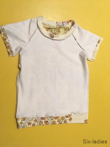 Celkový vzhled - tričko z rubu