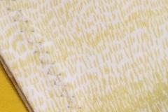 Cik-cak steh - začištění rukávu pouze zahnutím